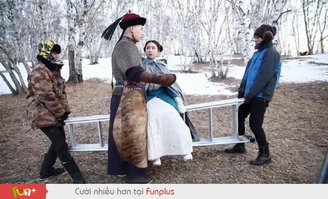 Sự thật cảnh quay lãng mạn trong Hoa ngữ khiến khán giả cười té ghế
