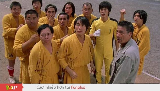 Trích đoạn hay trong phim Đội Bóng Thiếu Lâm