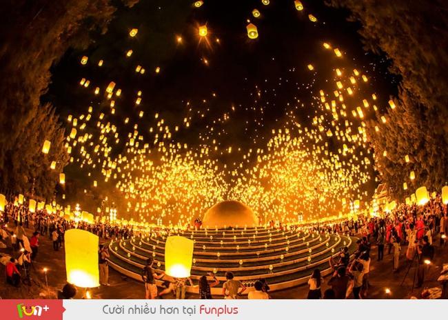 Lễ hội hoa đăng tháng 11 Thái Lan