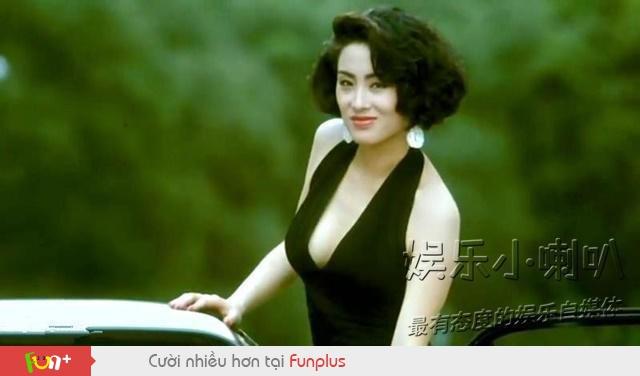 Trương Mẫn và Châu Tinh Trì trong phim Vua ăn mày