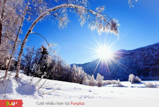 Mùa đông đẹp