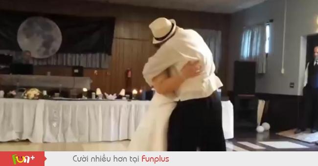 Khoảng khắc nhớ đời trong lễ cưới